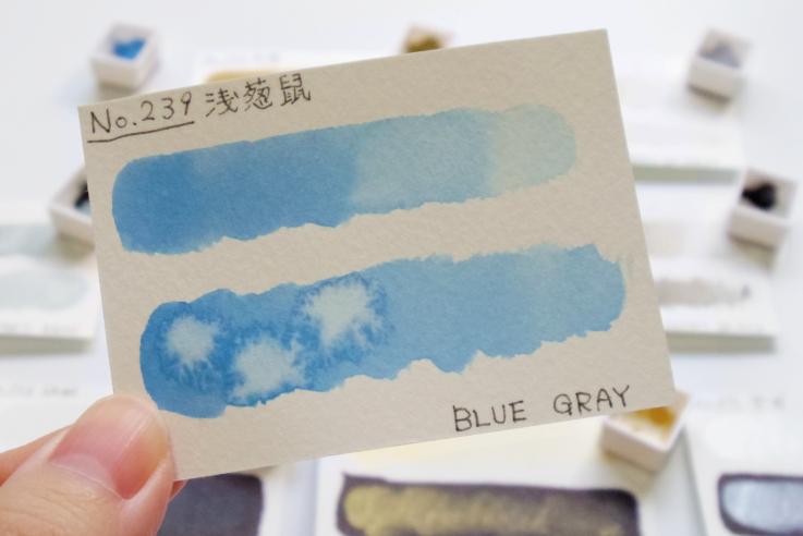 クサカベ透明水彩 ブルーグレー